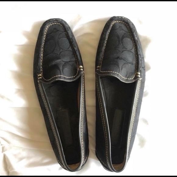 bc81d96f6fe Coach Shoes - Size 9 Black Coach Loafers